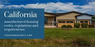 california manufactured housing codes