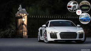 audi r8 white wallpapers top free