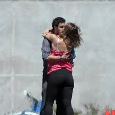 Katharine McPhee spotted kissing 'Scorpion' costar Elyes Gabel ...