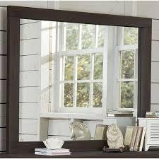 Ne Kids Kids Dresser Mirrors Highlands Mirror Espresso Mirror From A K Nahas Appliance Furniture Mattress Tv