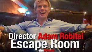 Escape Room director Adam Robitel makes a surprising confession - YouTube
