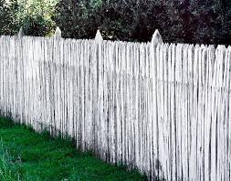 Stock Photos White Wooden Picket Fence Stock Photography Online