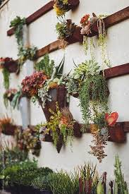 garden wall decoration ideas photo of