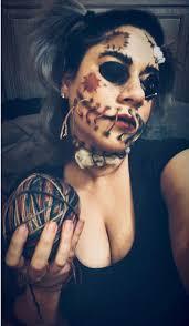 voodoo doll costume makeup saubhaya
