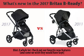changes to the 2017 britax b ready stroller