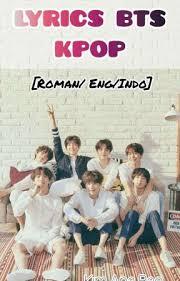 lyrics bts kpop r eng indo txt crown wattpad
