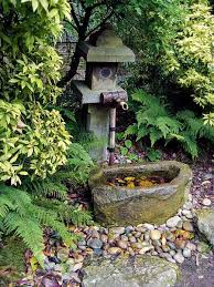 tsukubai water fountains japanese