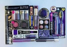 makeup lot eyes purple shades