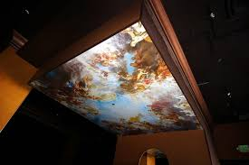 9 Stunning Ideas For Ceiling Murals And Decals Coastal Creative