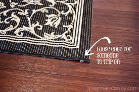 how to keep rugs from slipping ask anna