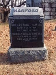 Priscilla Thomas Hanford (1825-1902) - Find A Grave Memorial