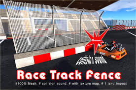 Second Life Marketplace Catch Fence Race Track Fence 1 Prim