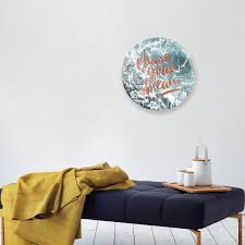 Chase Your Dream Circle Wall Art By Oliver Gal