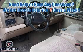 1999 2000 ford f 550 xlt cloth seat