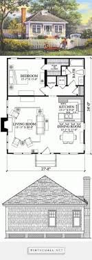 Pin by Wendi Burns on 1 bedroom house plans | Small house, Tiny house  plans, Small house plans