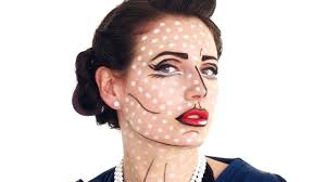 perfect pop art look this halloween