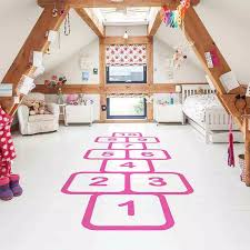 Wall Stickers For Kids Rooms Accessories Floor Decor Family Games Childhood Memories Decals Jump Plaid Playful Vinyl Hopscotch Wall Stickers Aliexpress