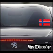 Norway Flag Sticker Car Or Wall Vinyl Decal Norway Flag Flag Decal Norway
