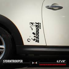 2x Stormtrooper Set Dark Side First Order Star Wars Car Vinyl Sticker Decal Ebay