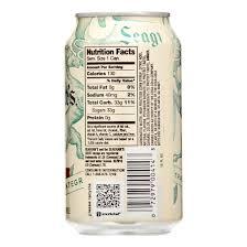 ginger ale nutrition label best label