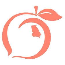 Peach State Pride Logo Decal