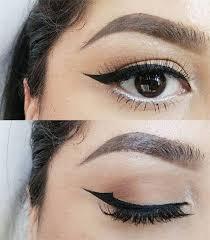 heavy eye makeup with gles saubhaya