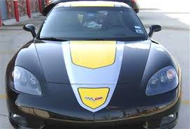 05 13 Gt1 Stripes Decal Package Yellow Jake Z06 Grand Sport Nd Corvette Central