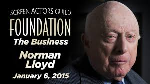 Norman Lloyd on The Business - YouTube