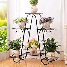 indoor flower pot rack