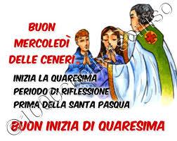 Mercoledì delle Ceneri Buon Inizio di Quaresima - GesuTiAma.it