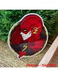The Flash Comic Hipster Indy Graphic Art Waterproof Vinyl Decal Sticker Skullangel Unique Handmade Clothing Embroidered Patches Waterproof Stickers For Diy Projects