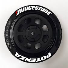 1 10 Scale Bridgestone Potenza Tire Stickers Truline Graphics Rc Racing Decals Grills And Numbers