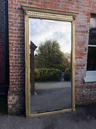 extra large antique french mirror
