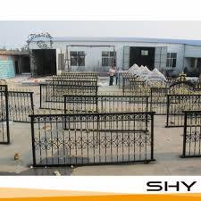 Cheap Decorative Garden Iron Fences Panels Hot Sale Used Wrought Iron Fence Design Buy Used Wrought Iron F Iron Fence Panels Iron Fence Wrought Iron Fences