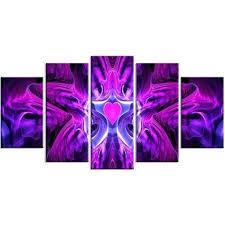 purple canvas wall art onlydosmaletas com
