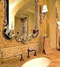 tuscan bathroom lighting