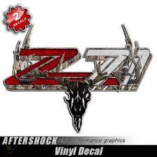 Camo Z71 Deer Skull Decal Archery Bow Hunter Mathews Bowtech 330072001