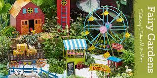 fairy garden ideas miniatures and