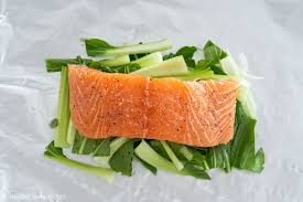 Ginger Salmon in Foil Packets ...