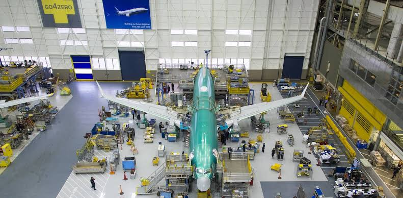 """Resultado de imagen para Boeing 737 assembly line"""""""