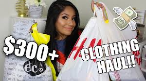 300 clothing haul forever 21 h m q