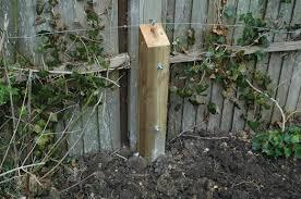 Repair A Broken Fence Post