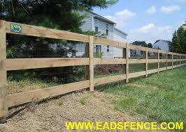 Ohio Fence Company Eads Fence Co 3 Rail Board Fence Photo Gallery