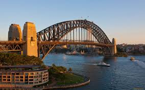 sydney harbour bridge hd wallpaper