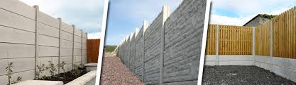 Post And Panel Fencing Timber And Concrete Panel Fencing Killeshal