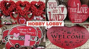valentine s day decor at hobby lobby
