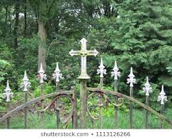 Graveyard Fence Images Stock Photos Vectors Shutterstock