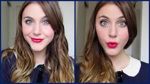 zooey deschanel makeup tutorial you