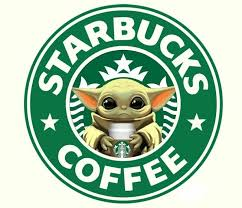 Starbucks Coffee Plastic Pvc Vinyl Stickers Decal For Cups Mug 6 Pk Baby Yoda Us Polybull Com