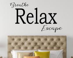 Spa Wall Decal Etsy